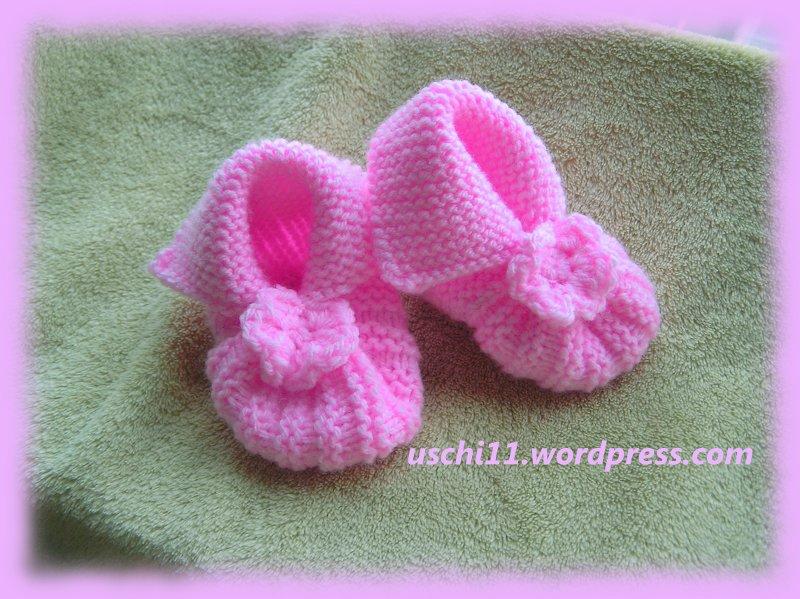 Babyschuhe Stricken Uschi11s Kreativblog