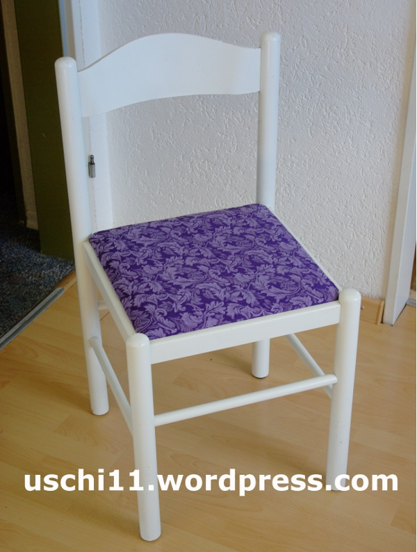 Stühle Beziehen stühle beziehen uschi11 s kreativblog