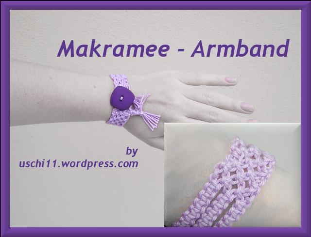 Makramee-Armband