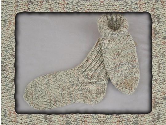 Socken im Juli drei